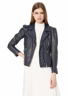 Rebecca Taylor Women's Leather Biker Jacket