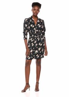 Rebecca Taylor Women's Long Sleeve V-Neck Dress