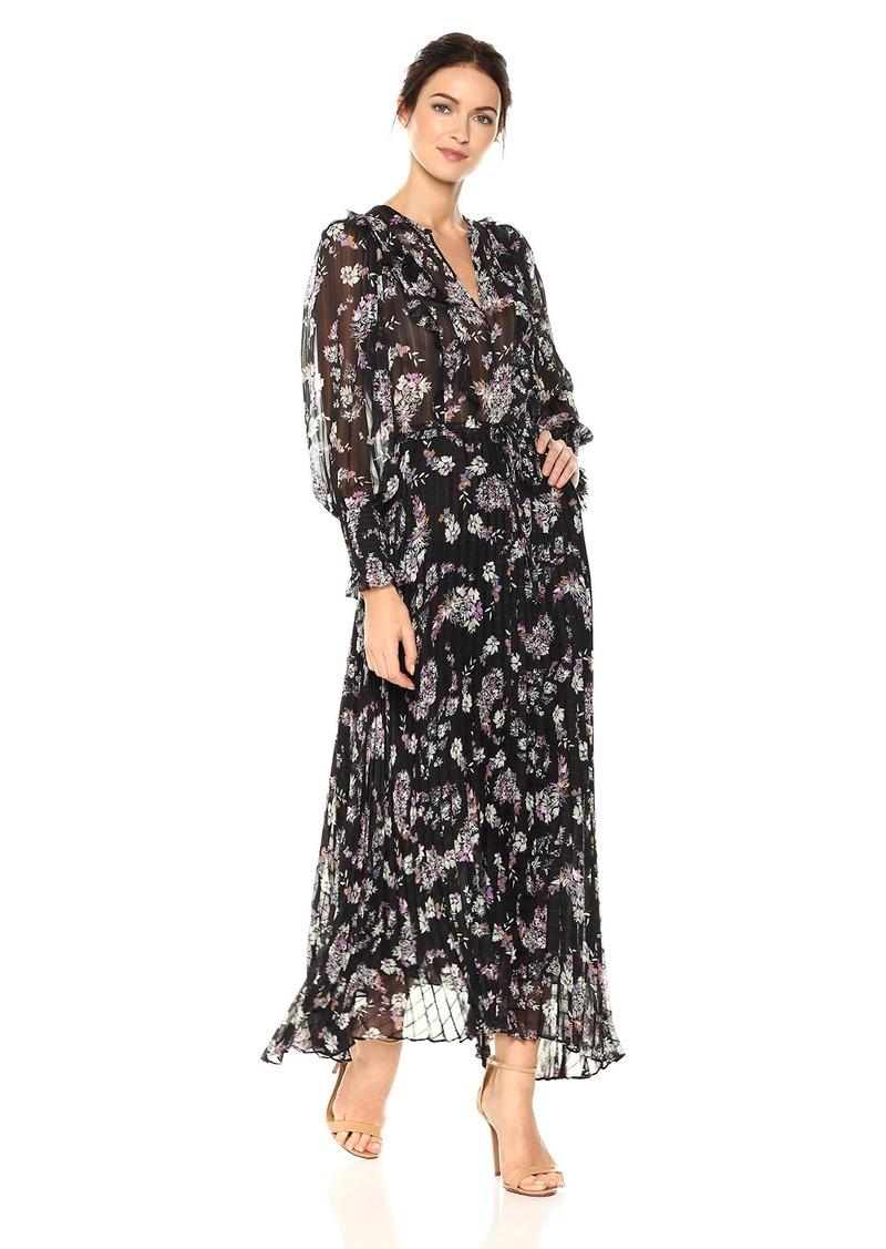 Rebecca Taylor Rebecca Taylor Women\'s Longsleeve Jewel Paisley Dress ...