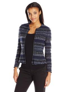 Rebecca Taylor Women's Lurex Tweed Jacket