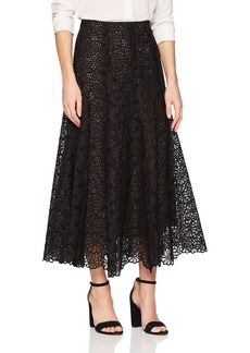 Rebecca Taylor Women's Malorie Embroidered Skirt