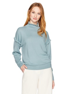 Rebecca Taylor Women's Merino Wool Pullover  L