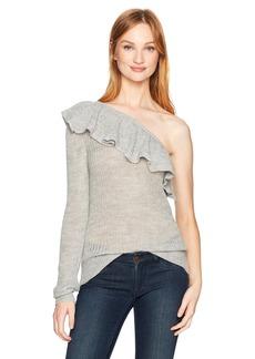 Rebecca Taylor Women's One Shoulder Alpaca Pullover  S