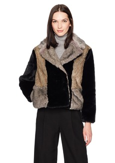Rebecca Taylor Women's Patched Fur Jacket  XS
