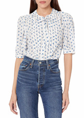 Rebecca Taylor Women's Puff Sleeve Emmy Blouse