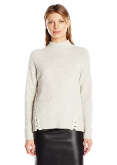 Rebecca Taylor Women's Pullover with Lacing