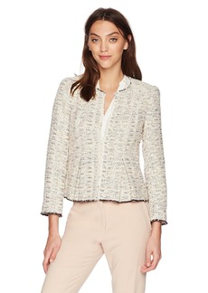 Rebecca Taylor Women's Rainbow Tweed Jacket