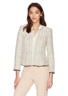 Rebecca Taylor Women's Rainbow Tweed Jacket