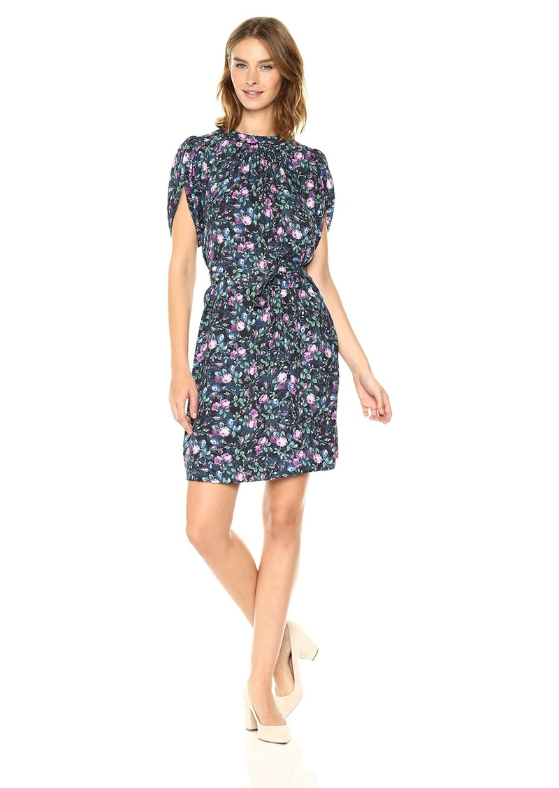 Rebecca Taylor Women's Shortsleeve Ruby Floral Dress