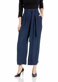 Rebecca Taylor Women's Silk Ankle Pant