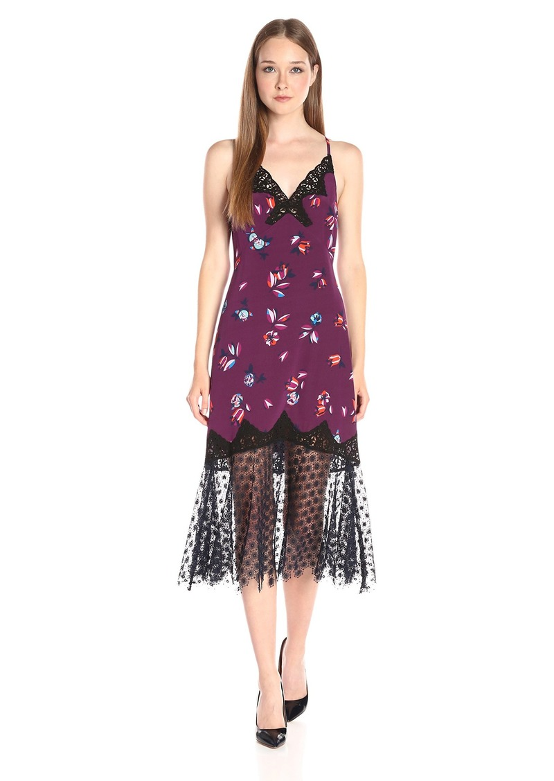 Rebecca Taylor Women's Sl Bellflr SLP Dress