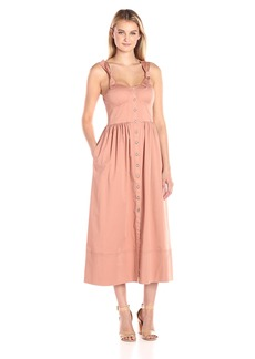 Rebecca Taylor Women's Sl Ctn Midi Dress