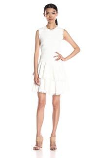 Rebecca Taylor Women's Sl Text Tweed Dress