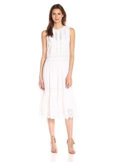 Rebecca Taylor Women's Sl Voile Lace Dress