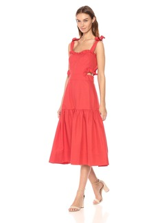 Rebecca Taylor Women's Sleeveless Cotton Midi Dress
