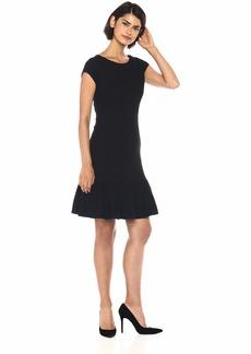 Rebecca Taylor Women's Sleeveless Honeycomb Dress