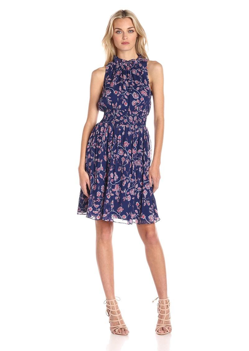 Rebecca Taylor Women's Sleeveless Kyoto Smock Dress