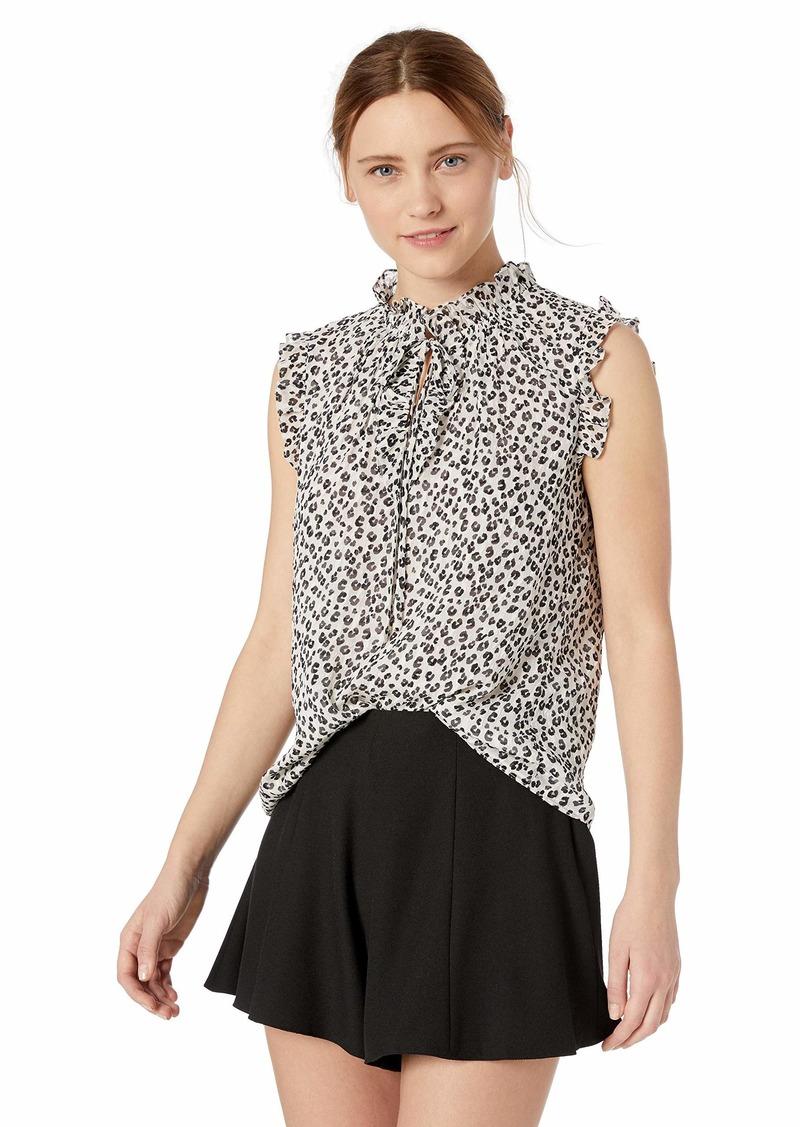 Rebecca Taylor Women's Sleeveless Silk Top
