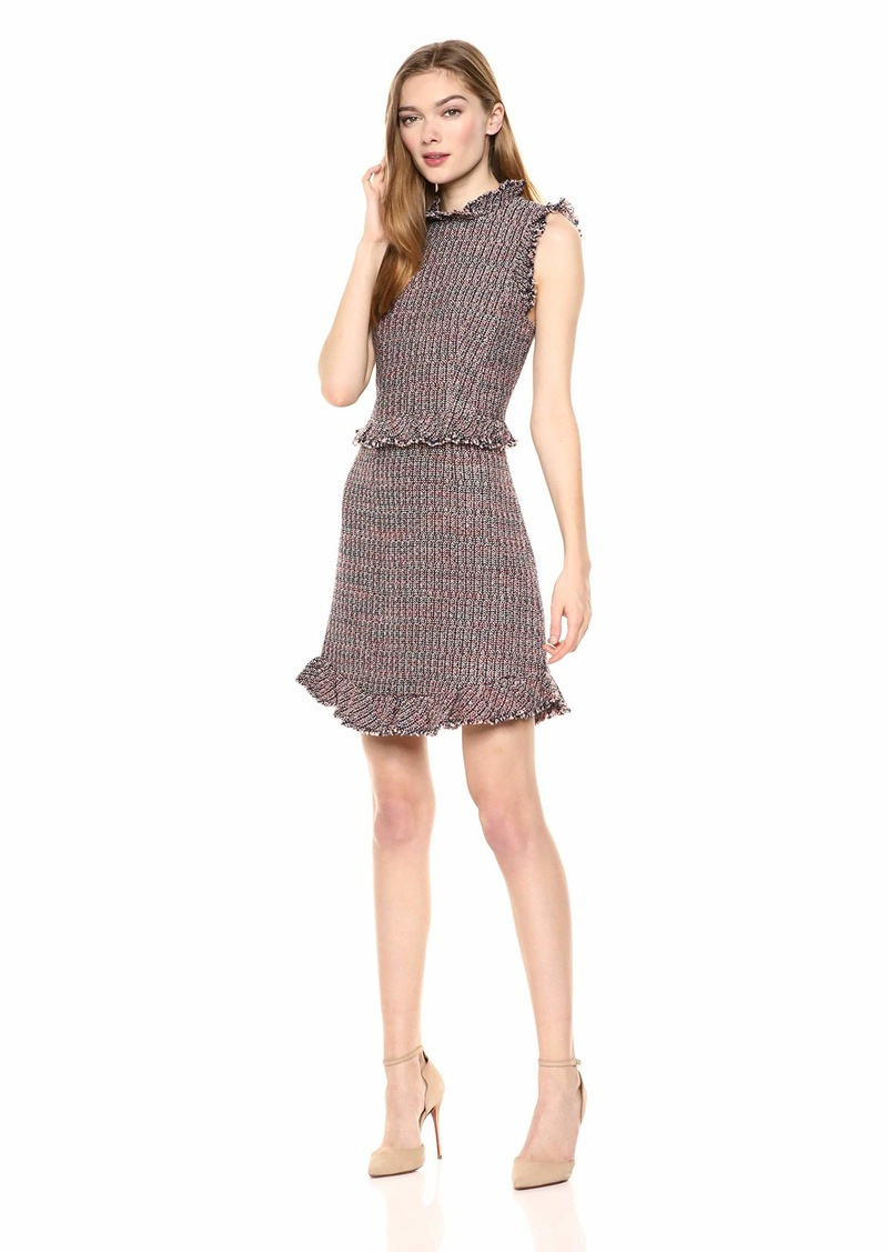Rebecca Taylor Women's Sleeveless Tweed Dress
