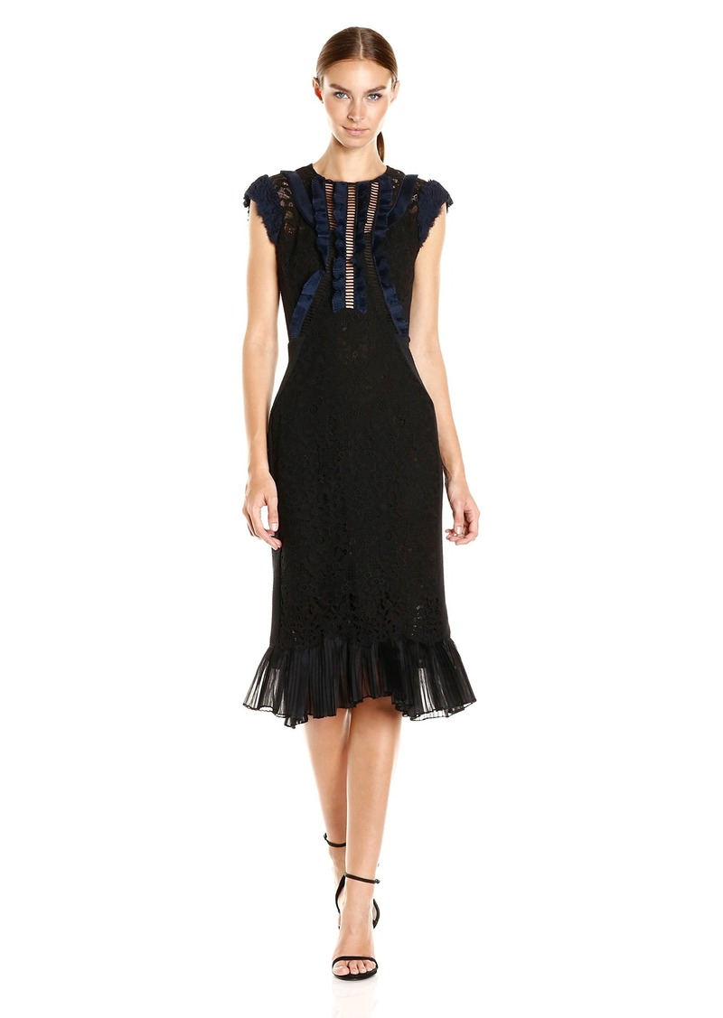 Rebecca Taylor Women's Sleeveless Vien Lace Dress
