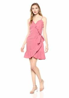 Rebecca Taylor Women's Sleeveless Wrap Dress