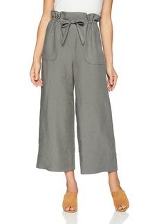Rebecca Taylor Women's Slub Linen Pant  L