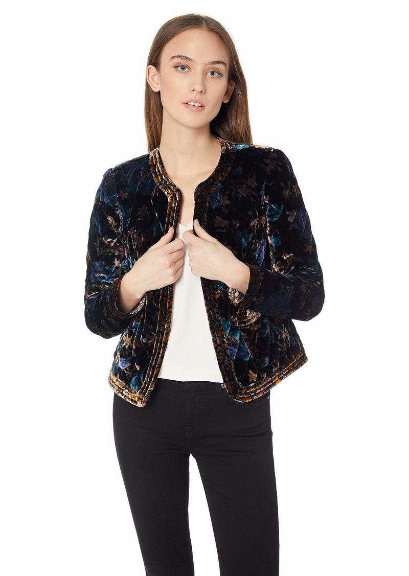 Rebecca Taylor Women's Solstice Velvet Jacket  S