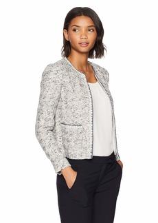 Rebecca Taylor Women's Speckled Tweed Jacket