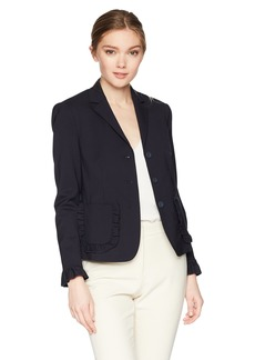 Rebecca Taylor Women's Spring Ruffle Jacket