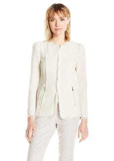 Rebecca Taylor Women's Str Tweed Jacket