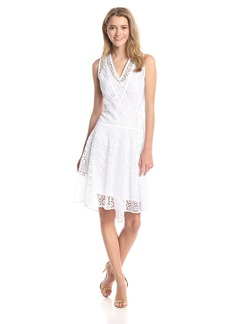 Rebecca Taylor Women's Tile Lace Flared Dress