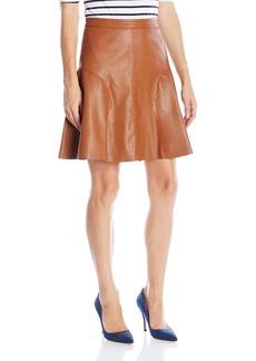 Rebecca Taylor Women's Vegan Ltr Skirt