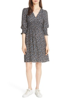 Rebecca Taylor Zelma Floral Silk Dress
