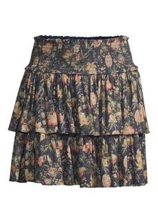 ab8d8c21e Rebecca Taylor Rebecca Taylor Faded Floral Midi Skirt | Skirts