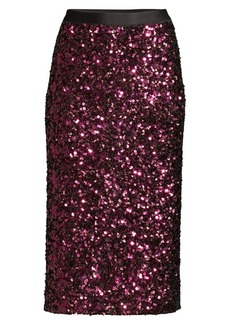 Rebecca Taylor Sequin Pencil Skirt