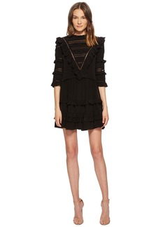 Rebecca Taylor Silk & Lace Dress