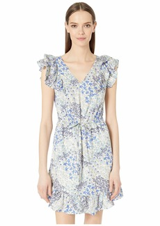 Rebecca Taylor Sleeveless Ava V-Neck Dress