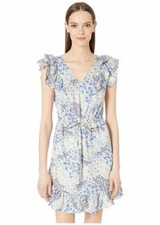 Rebecca Taylor Sleeveless Ava V-Neck Dress