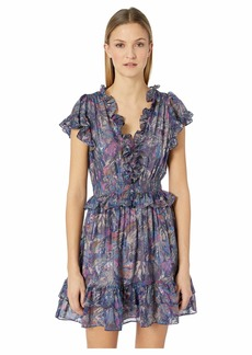 Rebecca Taylor Sleeveless Giverney Fleur Dress