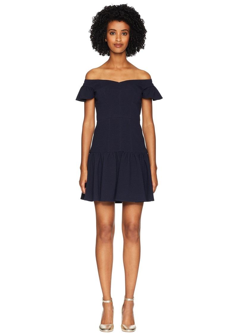 Rebecca Taylor Sleeveless Stretch Texture Dress