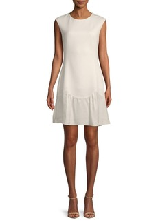 Rebecca Taylor Stacy A-Line Flounce Dress