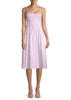 Rebecca Taylor Stretch-Cotton Tank Dress