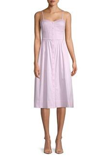 Rebecca Taylor Stretch-Cotton Tank Dress