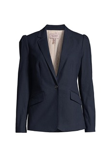 Rebecca Taylor Tailored Stretch Modern Suiting Jacket