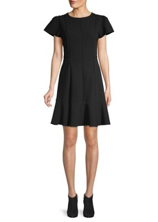 Rebecca Taylor Textured A-Line Dress