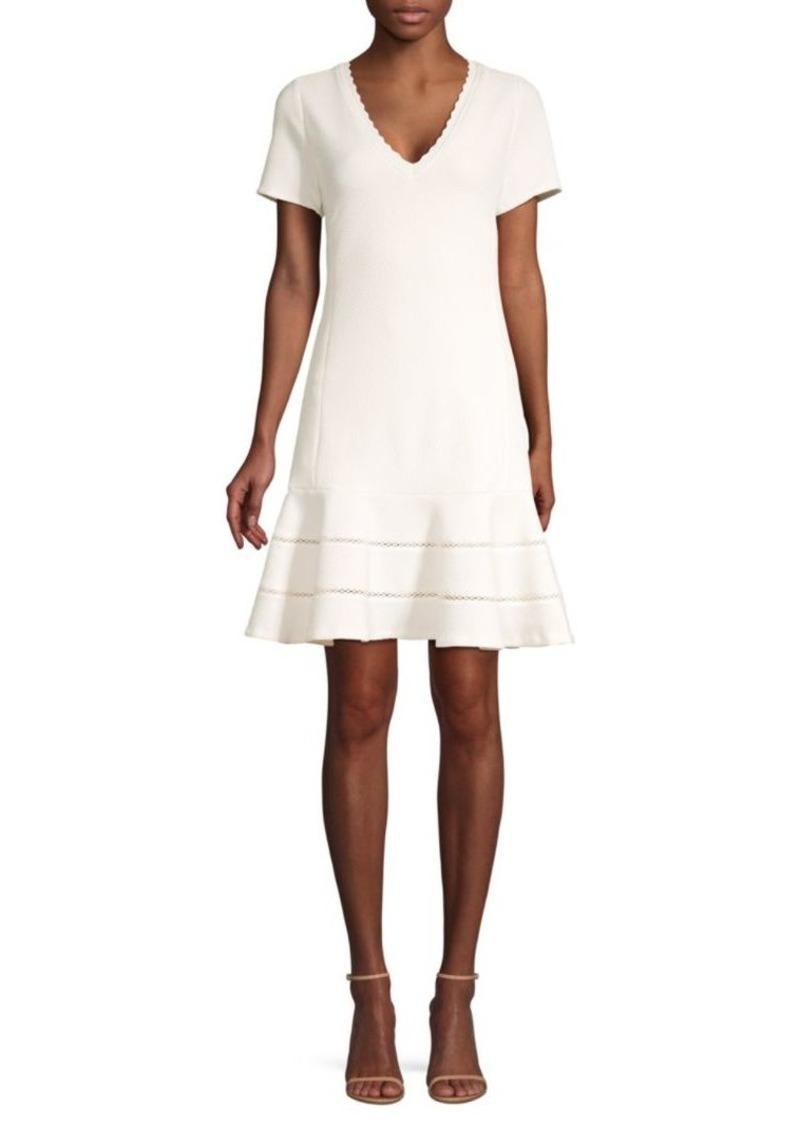 Rebecca Taylor Textured Shift Dress