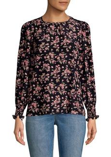 Rebecca Taylor Tilda Floral Blouse