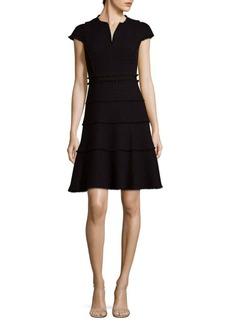 Rebecca Taylor Tweed Mini Dress