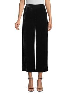 Rebecca Taylor Velvet Crop Pants