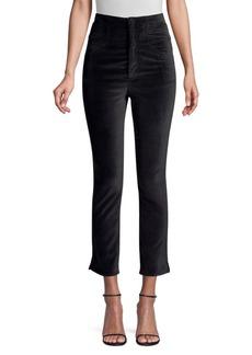Rebecca Taylor Velveteen Cropped Pants